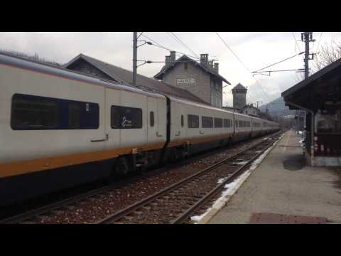 Eurostar Bourg Saint Maurice - Londres