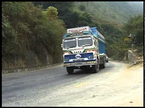 NEPAL ROAD THROUGH HIMALAYAS 1998