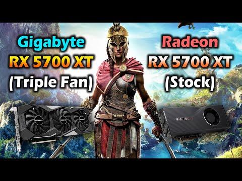 Gigabyte RX 5700 XT (Triple Fan) Vs Stock RX 5700 XT | 15 PC Games Tested 1440p 4K