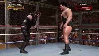 Wwe Legends of Wrestlemania (PS3) Hell in a Cell: The Undertaker vs Andre the Giant