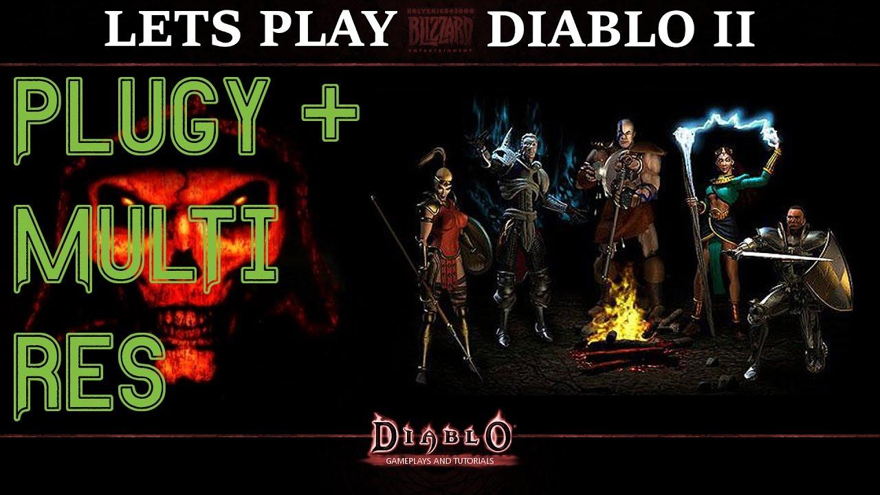 Let's Play: Diablo 2 - PlugY Mod und Multi Resolution [HQ] - YouTube