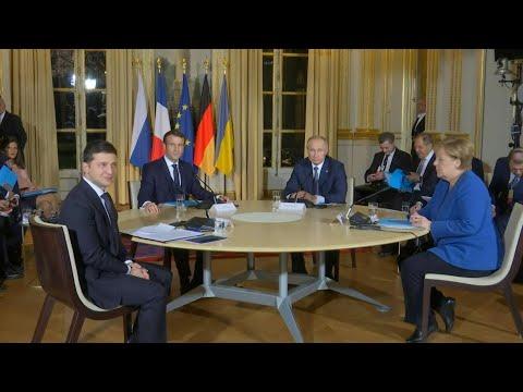 Putin, Zelensky in