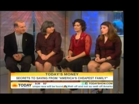Food Shopping on a Budget with America's Cheapest Family - Today Show #4 Cutting Grocery Costs