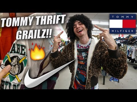 Trip to the Thrift #204 | TOMMY GRAILS & OG NIKE HEAT!