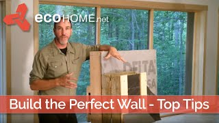 Ecohome building guide: Wall assembly