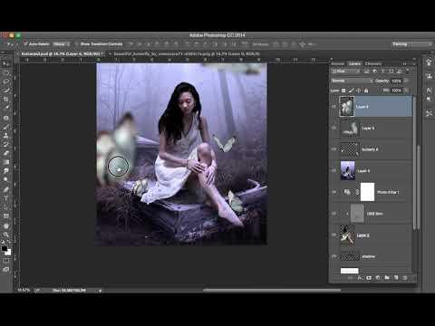 Dreamy Effect Composite Art Tutorial Part 2 thumbnail