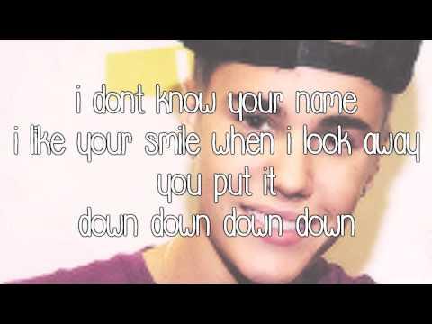 Justin Bieber-Out Of Town Girl (Lyrics)