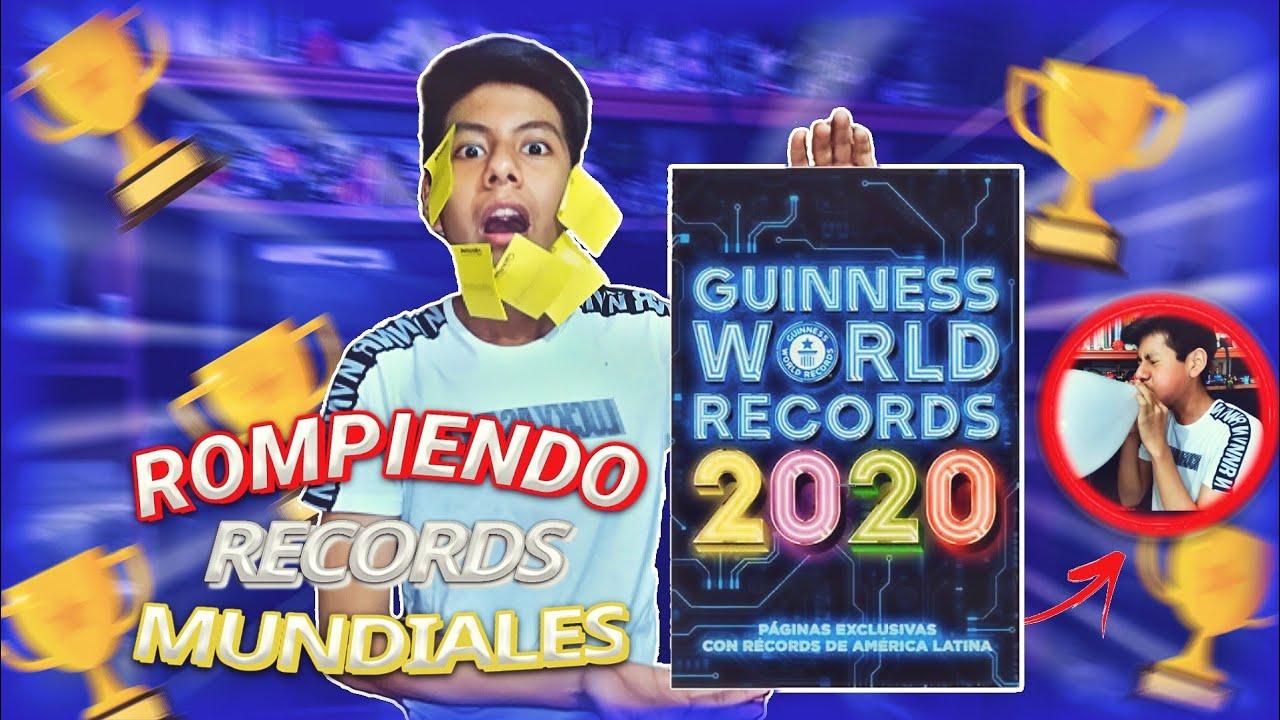 Rompiendo records guinness -records mundiales 🌎🔥- [Uriel]