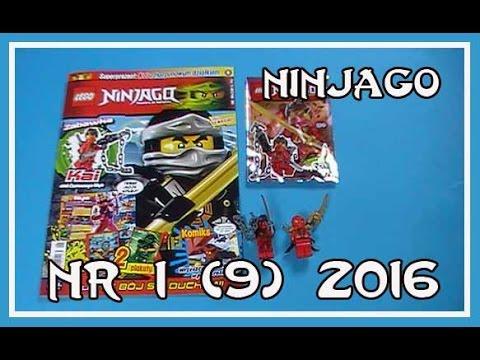 Magazyn Lego Ninjago nr 1(9) /2016 + figurka Kai z harpunowym ...