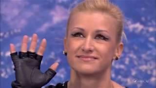 Tatiana VOLOSOZHAR Maxim TRANKOV RUS Short Program 2012 World Figure Skating Championships Nice