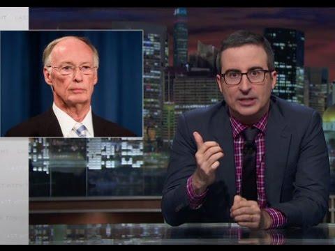 On Last Week Tonight John Oliver Slams Alabama Governor Robert J. Bentley (Video)