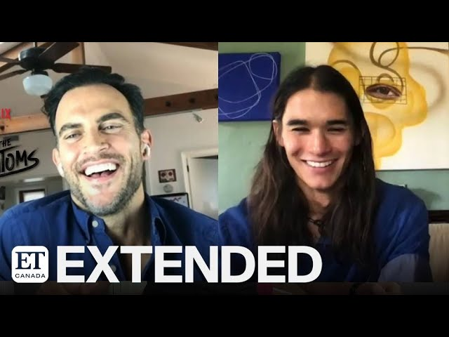 Cheyenne Jackson, BooBoo Stewart On 'Julie And The Phantoms' Ghosts | EXTENDED