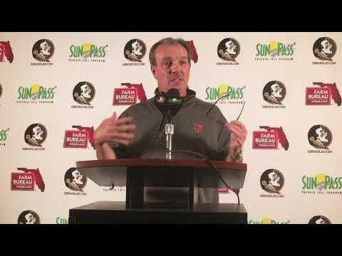 Jimbo Fisher on Monday after Florida, amid coaching rumors