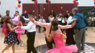 2012 competition Pendergast Ballroom dance