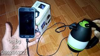 đèn pin đa năng 4 trong 1 | sạc pin cả cho điện thoại