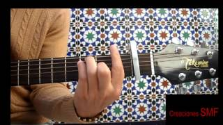 One Direction - History Guitar Easy Lesson .Tutorial Chords (Tutorial guitarra)