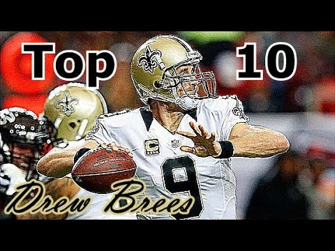 Drew Brees Top 10 Plays of Career