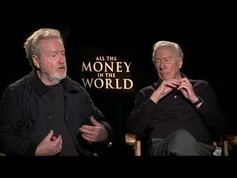 "All The Money In The World: Ridley Scott & Christopher Plummer ""J. Paul Getty"" Interview Part 2"