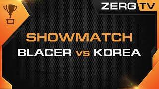 ★ Команда Blacer vs Сборной Korea  | StarCraft 2 с ZERGTV ★