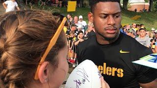 I met Juju Smith-Schuster!😱🤩// Steelers Training Camp (again)