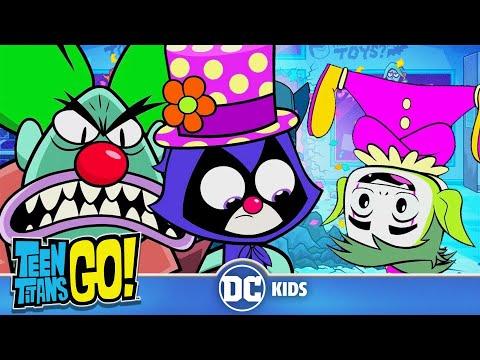 Teen Titans Go! En Español | Payasos Titans Go!