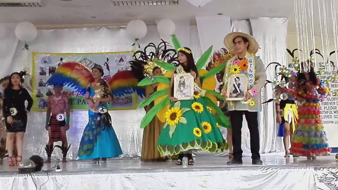Best In Festival Costume : Dinagyang & Pahiyas Festival