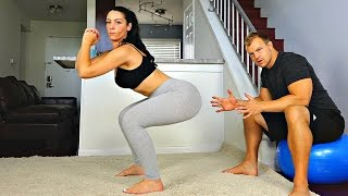 Improve Your Squats for the Perfect Butt -- 2 Tips