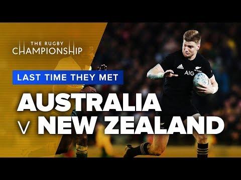 LAST TIME THEY MET   Australia v New Zealand