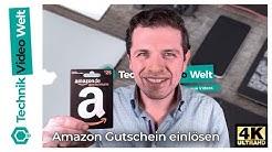 Amazon 🛍️ Geschenkgutschein einlösen
