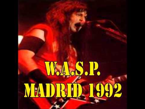 W.A.S.P. Live Madrid 1992 * Rare Audio*