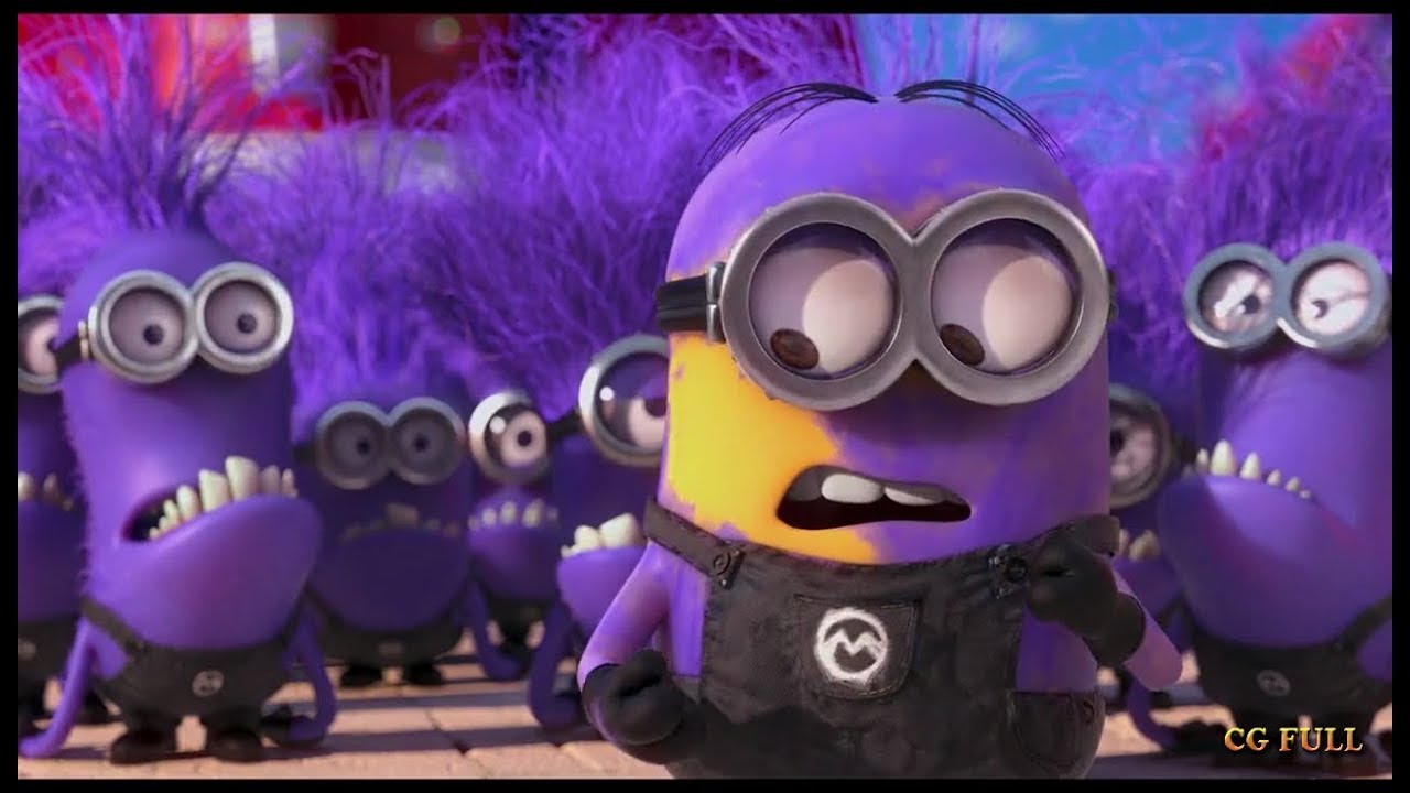 Fake purple minion Despicable me 2 (2013) Hd - YouTube | 1280 x 720 jpeg 96kB