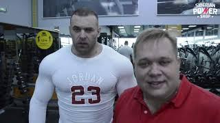 Тренировка Назаренко и Сазонова