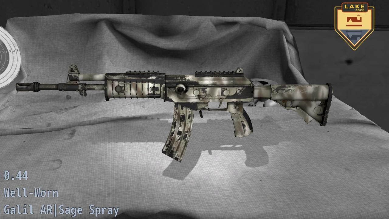 Galil AR | Sage Spray - CS:GO Stash