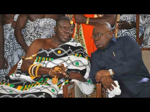 Nana Addo Was My Lawyer - Otumfuo
