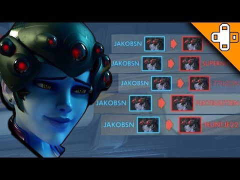 WIDOW VS THE WORLD - Overwatch Funny & Epic Moments 330