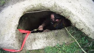WW2 BUNKER FOUND IN A FIELD (DESCENDING DEEP SHAFT)
