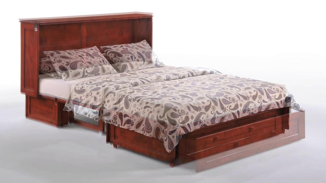 Delightful Clover Murphy Cabinet Bed