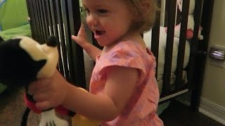 What Does The Baby Think About Mickey Mouse?!? (8.13.15)