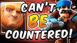 NEVER FAILS! GIANT MINER HUNTER DECK!  — Clash Royale