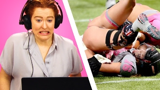 Irish people watch lingerie football