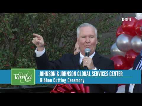 Johnson & Johnson North America Global Services Center Ribbon Cutting Ceremony
