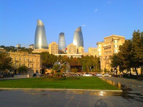 Baku útifilmem / My Baku visit, sightseeing in Baku