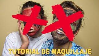 NOS MAQUILLAMOS Y ACABAMOS ASÍ | MIXED UP MAKEUP CHALLENGE | SIAMEGAS