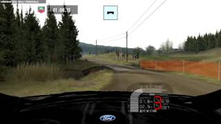 Richard Burns Rally (Real Rally MOD) gameplay