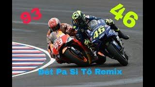 The Spectre Remix - Marquez 93 Và Rossi 46 Những Màn Cạnh Tranh Nảy Lửa | Nhạc P