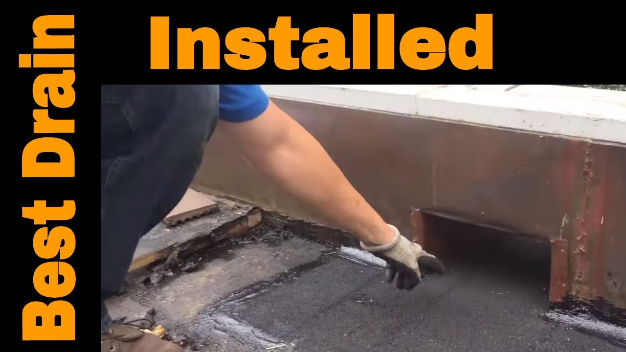 The Best Flat Roof Drain Is A Scupper Most Effective Way