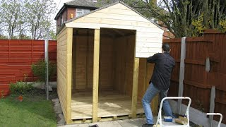 Building a shed by yourself