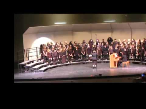 Hornedo Middle School Choir - 2016 - Cantante Domino and Pure Imagination