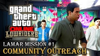 GTA Online Lowriders - Mission #1 - Community Outreach [Hard Difficulty]