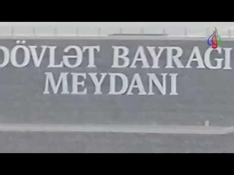 Azerbaijan, Baku. Azerbaijani Folk Songs. Upland Park.